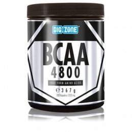 BIG ZONE BCAA 4800 / 300 kaps.