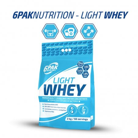 Proteinas Whey Light 2000g
