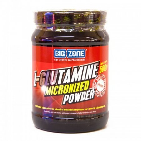 Big Zone L-Glutamine Micronized Powder (500g)
