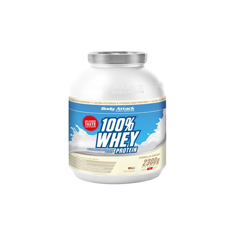Body Attack Whey 100 Proteinas 2300g