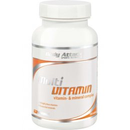 Body Attack Multi Vitamin (100 Tabl.)