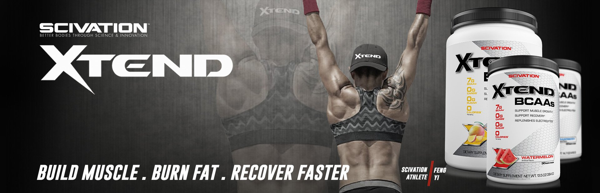 XTEND WHEN YOU NEED BEST BCAA