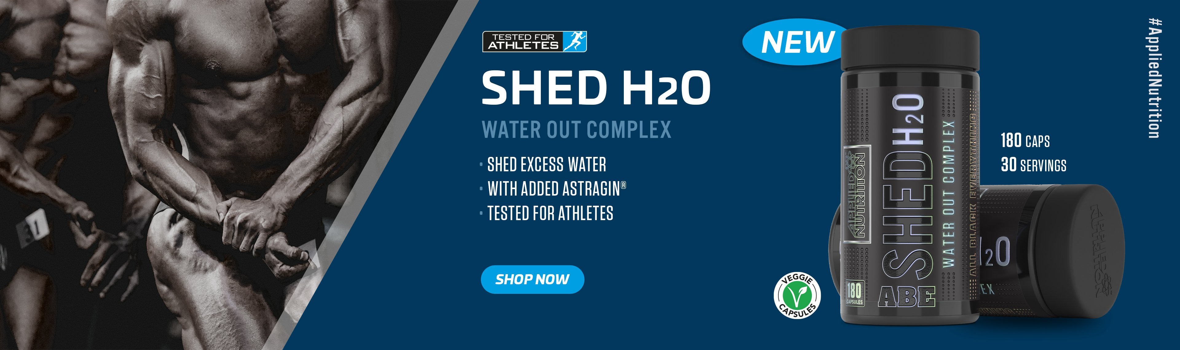 Shed H2O water out complex
